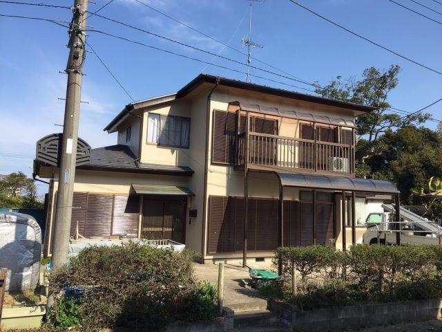 茨城県稲敷郡美浦村 外壁塗装工事・屋根葺き替え工事