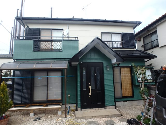 埼玉県坂戸市 外壁塗装・屋根塗装・大工工事