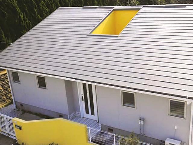 軽量金属屋根リフォーム