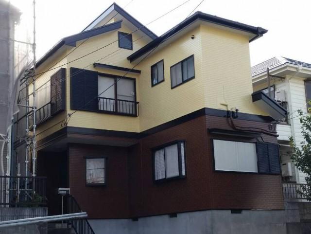 千葉県千葉市緑区 外壁塗装・屋根塗装・シーリング工事アフター写真