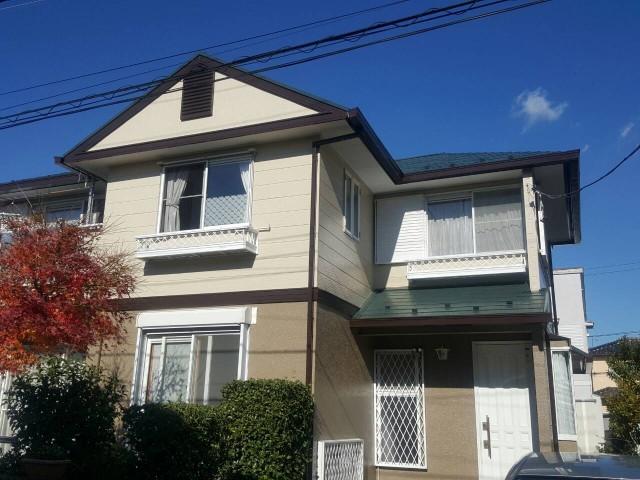 千葉県大網白里市 外壁塗装・屋根塗装・シーリング工事アフター写真