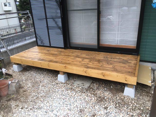 埼玉県坂戸市 外壁塗装・屋根塗装・大工工事ビフォア写真