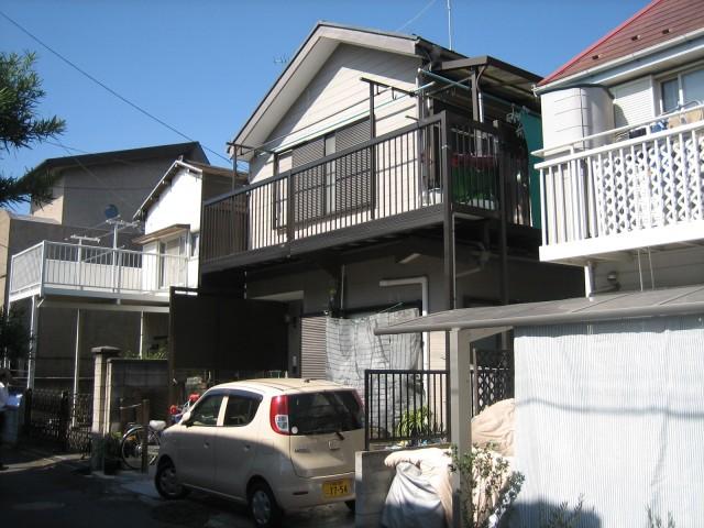 千葉県市川市 外壁塗装・屋根塗装・付帯工事ビフォア写真
