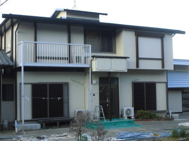 千葉県市原市 外壁塗装・屋根塗装・納屋塗装アフター写真