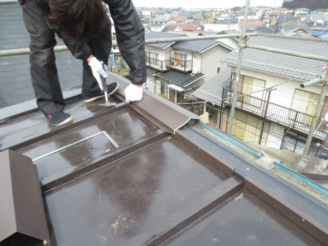 神奈川県横浜市旭区 外壁塗装・屋根塗装・屋根板金工事アフター写真