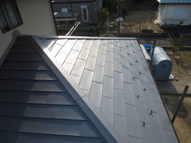 茨城県稲敷郡美浦村 外壁塗装工事・屋根葺き替え工事アフター写真