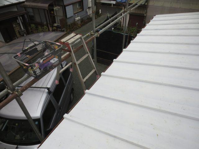 神奈川県足柄上郡 外壁塗装 屋根塗装 大工工事ビフォア写真
