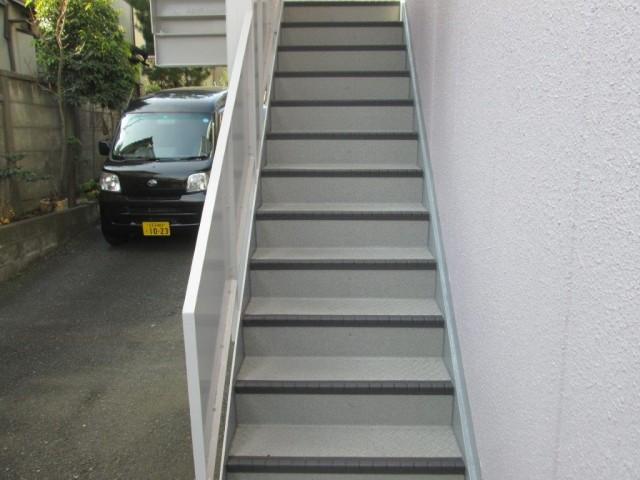 東京都板橋区 マンション長尺シート工事アフター写真