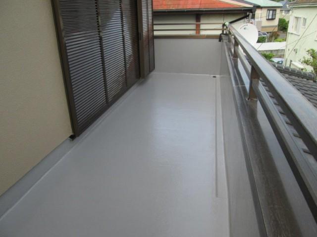 神奈川県茅ケ崎市 外壁塗装・防水工事アフター写真