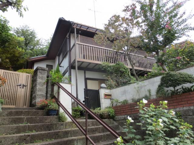 神奈川県川崎市 外壁塗装・雨樋全交換ビフォア写真