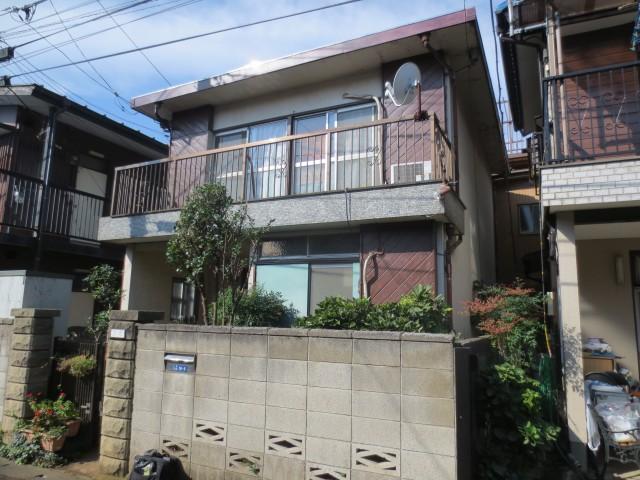 埼玉県朝霞市 外壁塗装・付帯工事ビフォア写真