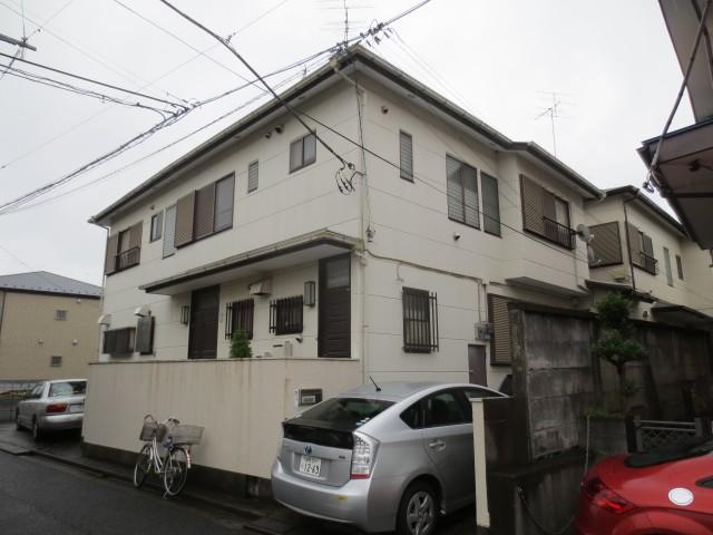 東京都杉並区 外壁塗装・屋根塗装ビフォア写真