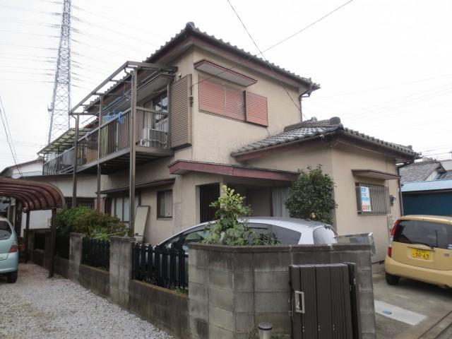 埼玉県鴻巣市 外壁塗装・波板交換ビフォア写真