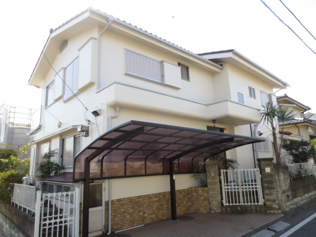 神奈川県横浜市磯子区 外壁塗装・屋根塗装アフター写真