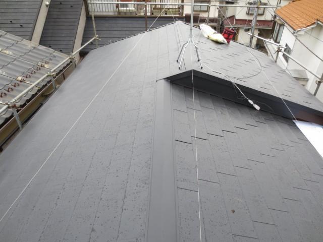 東京都狛江市 外壁塗装・屋根葺き替え・雨樋交換・その他アフター写真
