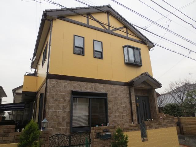 神奈川県横浜市旭区 外壁塗装アフター写真