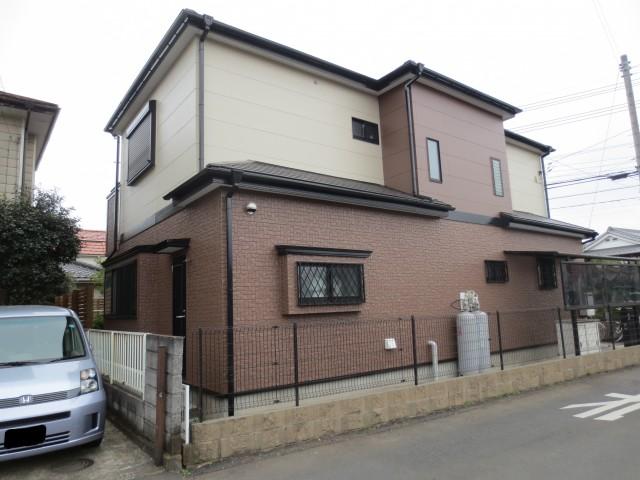 埼玉県川越市 外壁塗装・屋根塗装・シーリング工事アフター写真