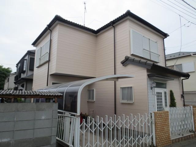 千葉県柏市 外壁塗装・屋根塗装アフター写真