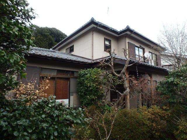 神奈川県横浜市港北区 外壁塗装・屋根塗装ビフォア写真