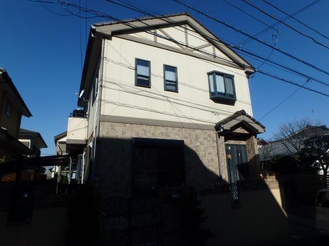 神奈川県横浜市旭区 外壁塗装ビフォア写真