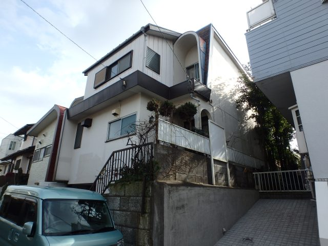 神奈川県横浜市旭区 外壁塗装・屋根塗装・屋根板金工事ビフォア写真