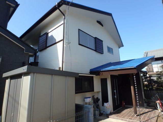 埼玉県蓮田市 外壁塗装・屋根塗装・大工補修工事アフター写真