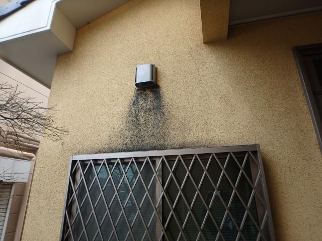 埼玉県鶴ヶ島市 外壁塗装ビフォア写真