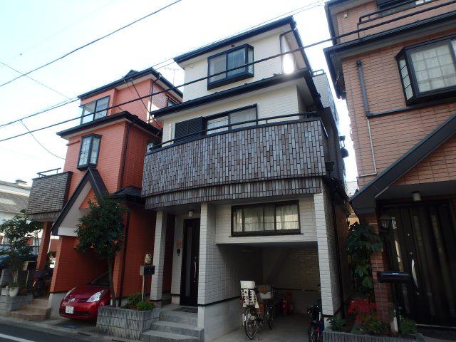 東京都江戸川区 外壁塗装・屋根塗装・シーリング工事アフター写真