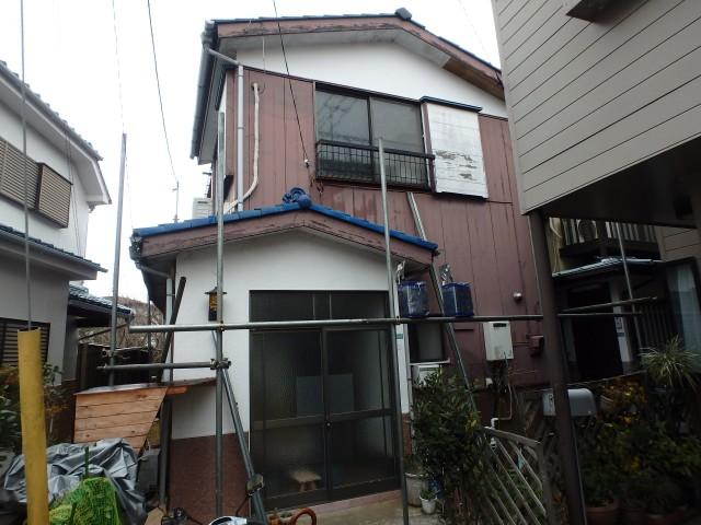 東京都狛江市 外壁塗装・屋根葺き替え・雨樋交換・その他ビフォア写真