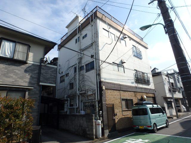 埼玉県川口市 外壁塗装 防水工事ビフォア写真