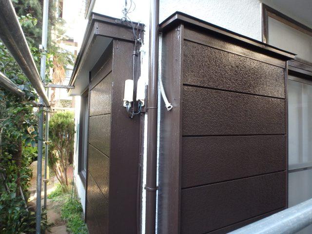 千葉県松戸市 外壁塗装・大工工事アフター写真