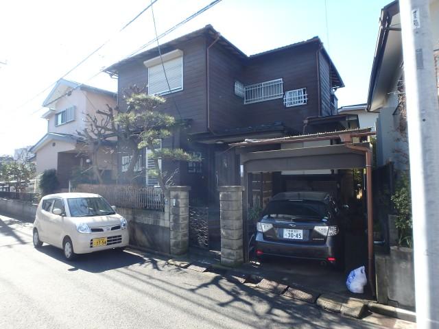 東京都三鷹市 外壁塗装・鉄部塗装・付帯工事ビフォア写真