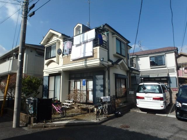 東京都世田谷区 外壁塗装・屋根塗装ビフォア写真
