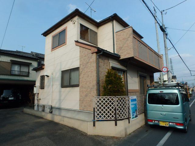 埼玉県熊谷市 外壁塗装 屋根塗装ビフォア写真