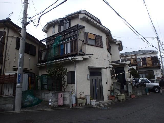 神奈川県茅ケ崎市 外壁塗装・屋根塗装ビフォア写真