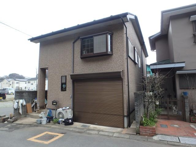千葉県松戸市 外壁塗装・シーリング工事ビフォア写真
