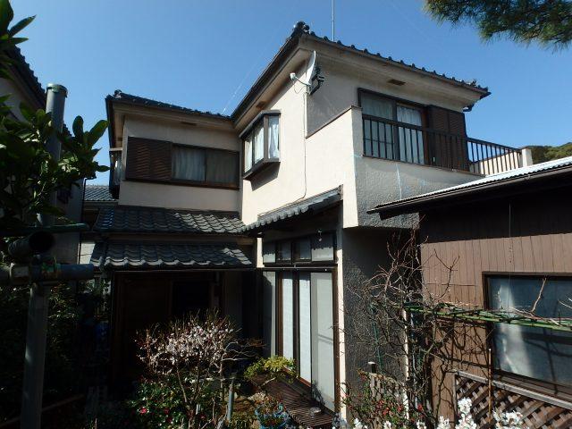 千葉県松戸市 外壁塗装ビフォア写真