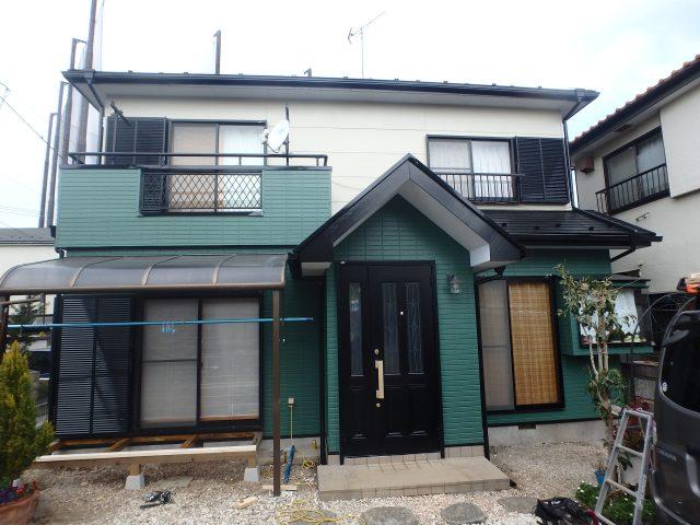 埼玉県坂戸市 外壁塗装・屋根塗装・大工工事アフター写真