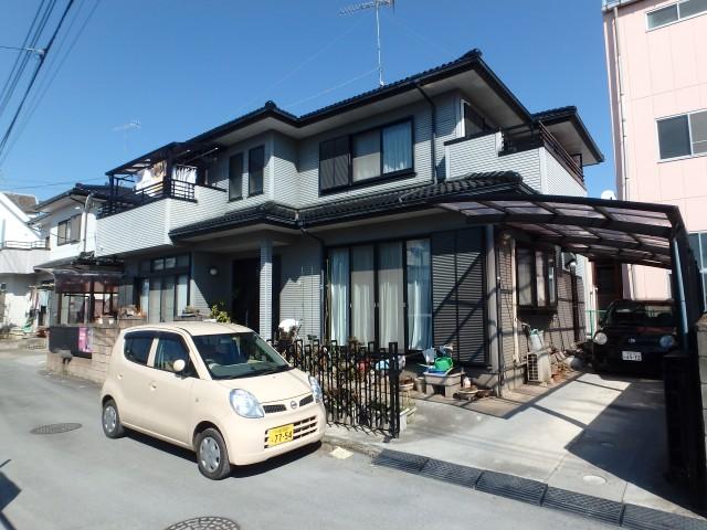 埼玉県熊谷市 外壁塗装ビフォア写真