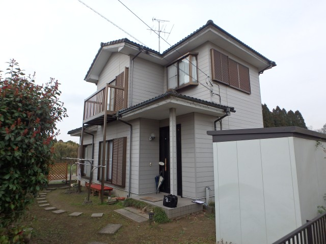 千葉県茂原市 外壁塗装・屋根塗装・シーリング工事ビフォア写真