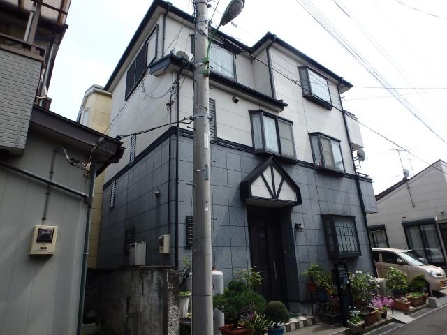 埼玉県八潮市 外壁塗装・屋根塗装・シーリング工事ビフォア写真
