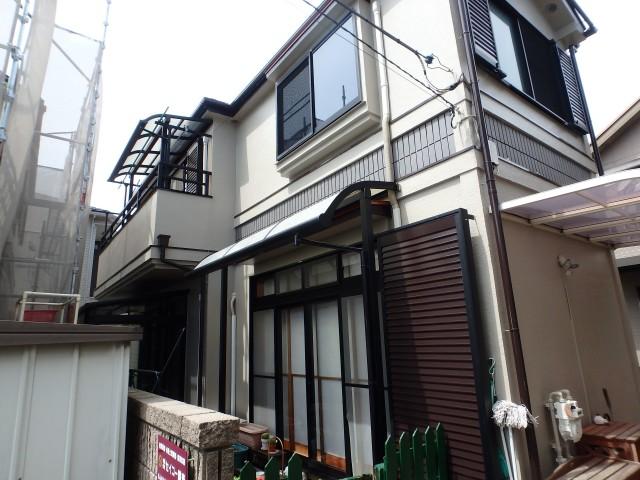 東京都世田谷区 外壁塗装・屋根塗装・雨樋交換・付帯工事アフター写真