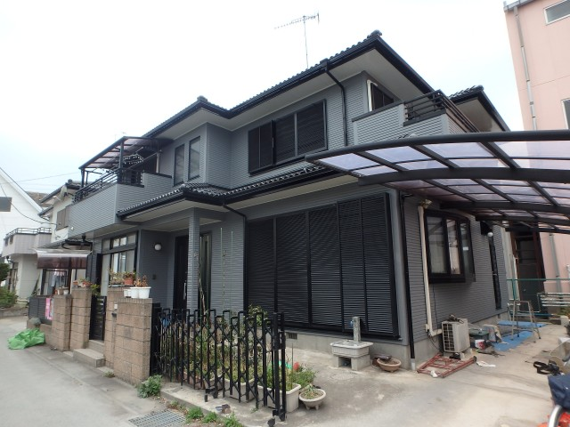 埼玉県熊谷市 外壁塗装アフター写真