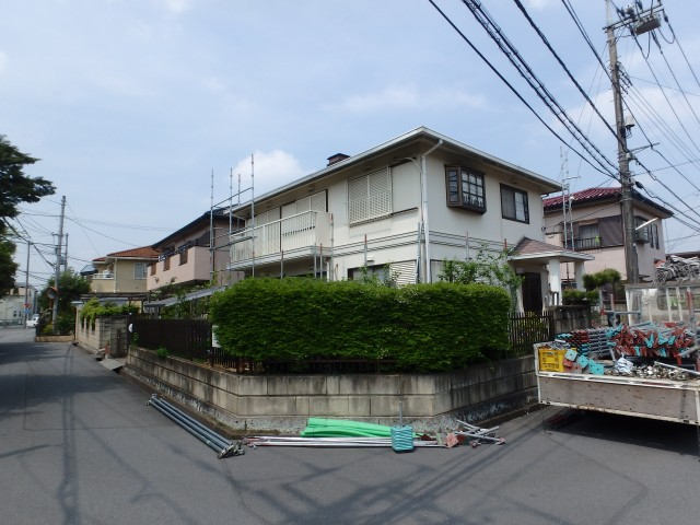埼玉県坂戸市 外壁塗装・屋根塗装・雪止取付・その他ビフォア写真