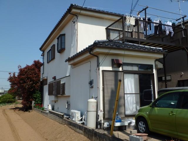 埼玉県東松山市 外壁塗装・波板交換・雨漏止水処理・その他ビフォア写真