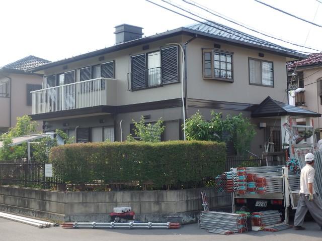 埼玉県坂戸市 外壁塗装・屋根塗装・雪止取付・その他アフター写真