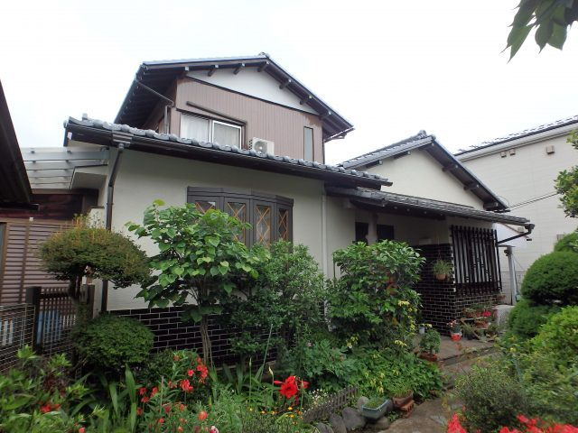 東京都世田谷区 外壁塗装・雨樋交換・大工補修アフター写真