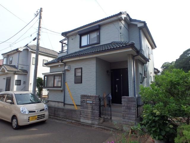 埼玉県狭山市 外壁塗装・シーリング工事ビフォア写真