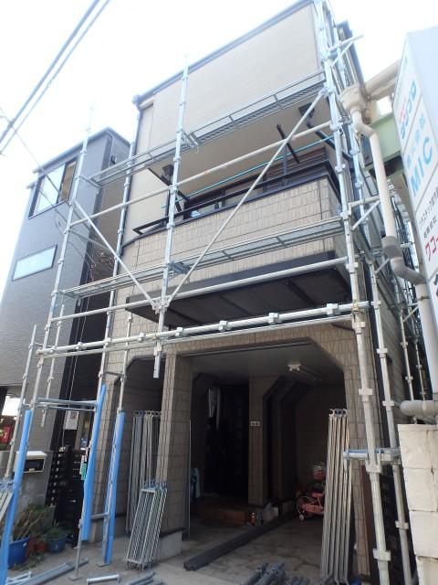 東京都荒川区 外壁塗装・屋根塗装・シーリング工事ビフォア写真