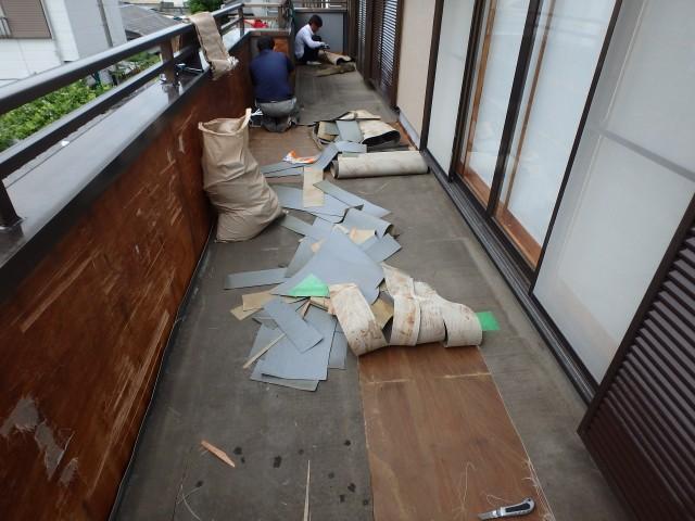 神奈川県茅ケ崎市 外壁塗装・防水工事ビフォア写真